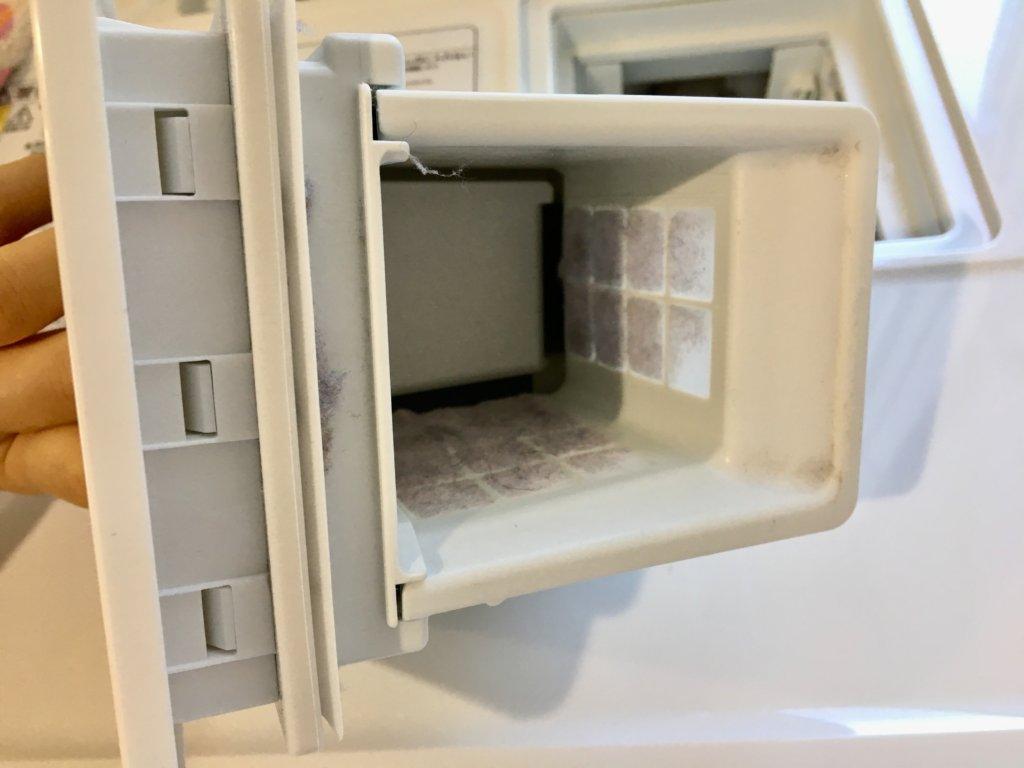 日立の洗濯乾燥機BD–SG100EL乾燥フィルター