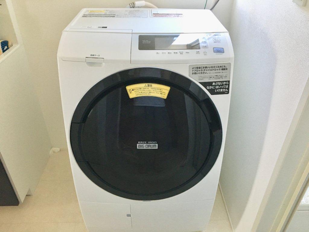 日立の洗濯乾燥機BD–SG100EL