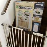 【口コミ・失敗談も】日本育児 ダブルロックゲートワイドを設置しました