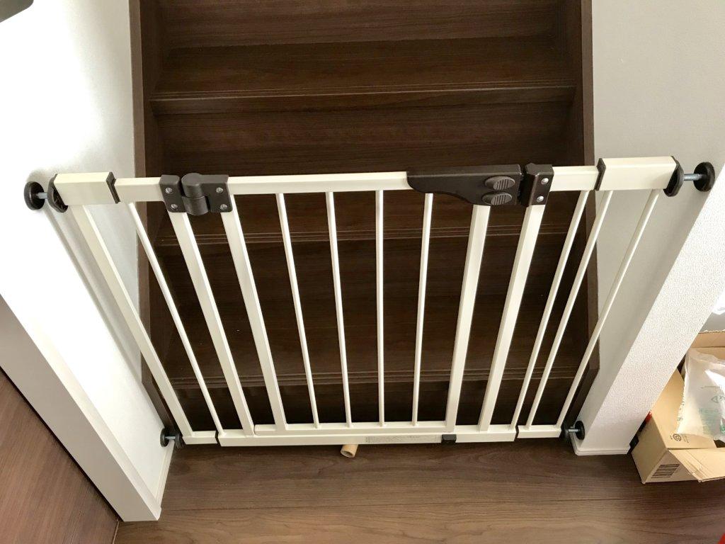 階段 日本育児 ダブルロックゲートワイド